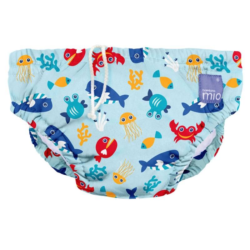 Bambino Swimnappy in Deep Blue Sea