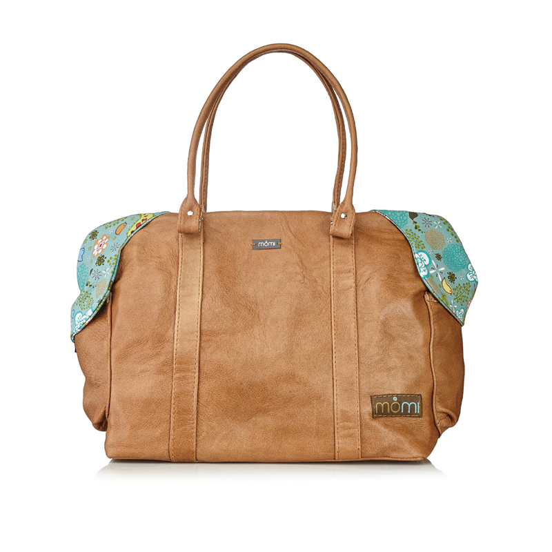 Tweet Leather Nappy Bag