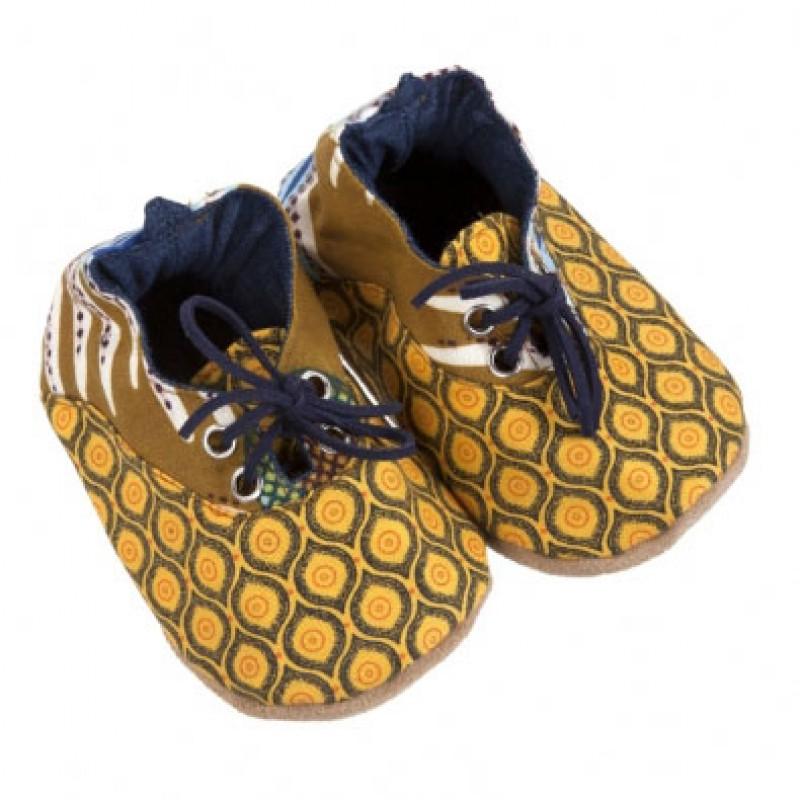 Yellow Shwe Shwe Shoes
