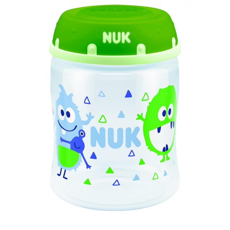 Nuk Breast Milk Container - Monster