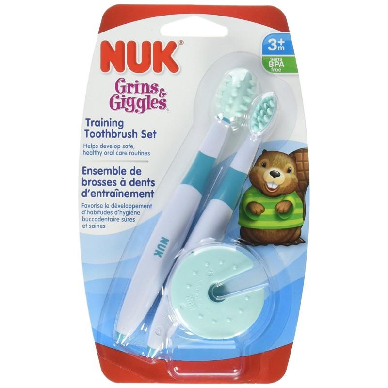 Nuk Training Gum Brush Set