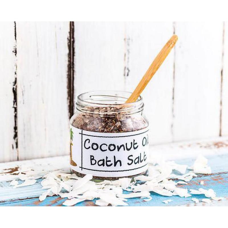Coconut Oil Bath Salts