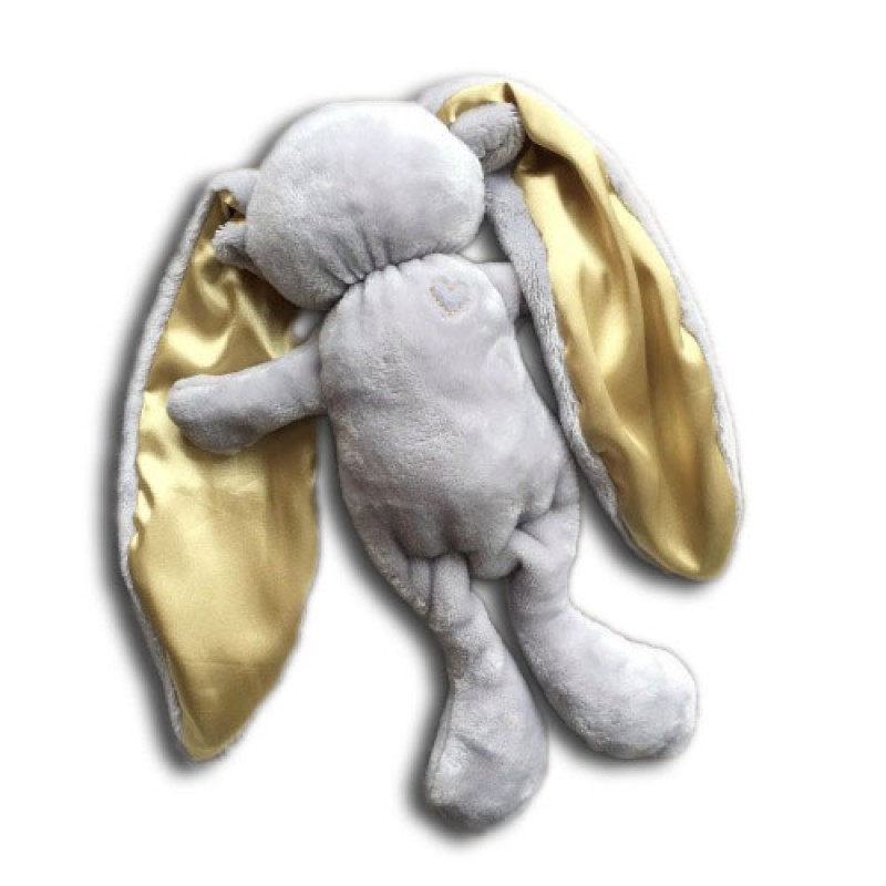 Cuddle Bunny in Grey and Gold
