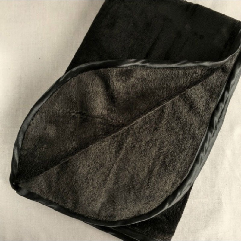 Fleece Blanket in Black